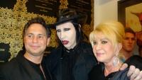Marilyn Manson Opening at 101 Exhibit